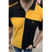Camisa Polo Black West Evollet Mostarda