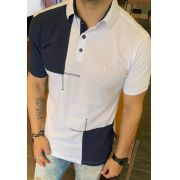 Camisa Polo Black West Picture Branco