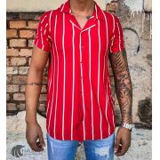 Camisa Starpolis Red Stripes