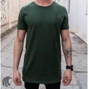 Camiseta Austin Club Verde Desenho Lateral