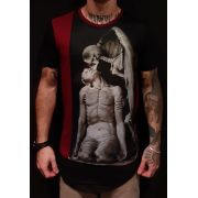 Camiseta Black West Long Angel of Death