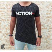 Camiseta Deep Roots Black Action (Verificar Descrição)