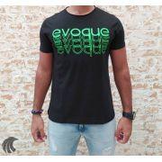 Camiseta Evoque Black Brand Neon (Verificar Descrição)