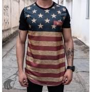 Camiseta Evoque Black EUA Lines