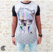 Camiseta Evoque Black Skull Colors