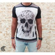 Camiseta Evoque Black Skull Icons