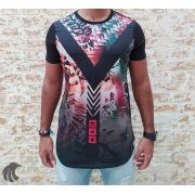 Camiseta Evoque Black V Arrows