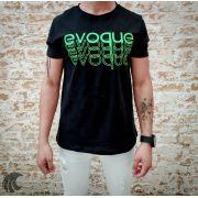 Camiseta Evoque Brand Contours