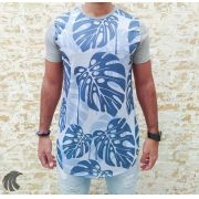 Camiseta Evoque Grey and Blue Sheets