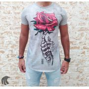 Camiseta Evoque Grey Bones and the Rose