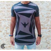 Camiseta Evoque Grey Labyrinth Brand