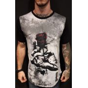 Camiseta Evoque Long  Flower of Thorns