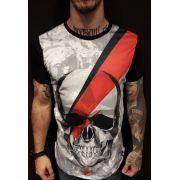 Camiseta Evoque Long Line Red