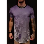Camiseta Evoque Long  Purple Smooth