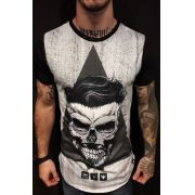 Camiseta Evoque Long  Triangle Beard