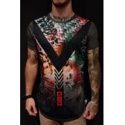 Camiseta Evoque Long  V