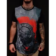 Camiseta Evoque Long Warrior Black