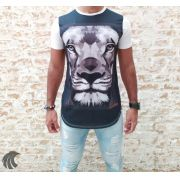 Camiseta Evoque White Lion