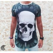 Camiseta Evoque White Skull Forest