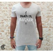 Camiseta King Joy Gray Forever