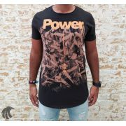 Camiseta King Joy Preta Power