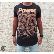 Camiseta King Joy Preta Power
