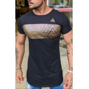 Camiseta Long Kreta Gold Deluxe