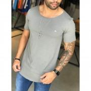 Camiseta M Artt Cinza Deluxe