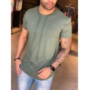 Camiseta M Artt Manga Curta Verde