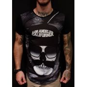 Camiseta Riviera Long Los Angeles Black