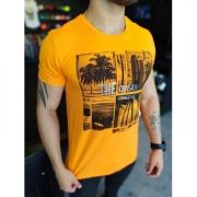 Camiseta Starpolis Laranja Neon The Ocean