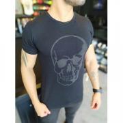 Camiseta Starpolis Preta Caveira