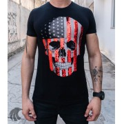 Camiseta Starpolis Preta Detalhe Brilhante