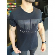 Camiseta Starpolis Preta New York City