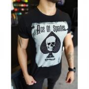 Camiseta Starpolis Preto Ace of Spades