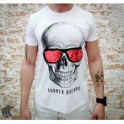 Camiseta Starpolis Skull Glow Glasses