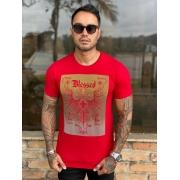 Camiseta Starpolis Vermelha Blessed