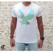 Camiseta Starpolis White Eagle Attack Glow