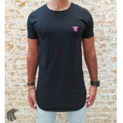 Camiseta Totanka Preta Long Line