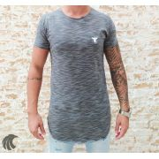 Camiseta Totanka Gray Two Deluxe Long Line