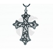 Colar Crucifixo Cursive