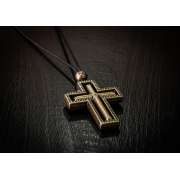 Colar Golden Cross