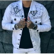 Jaqueta Codi Jeans Branca Deluxe