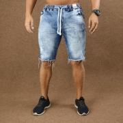 Short Jeans Masculino Caunt Jogger Azul