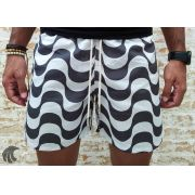 Shorts Praia PerPochi White Curling