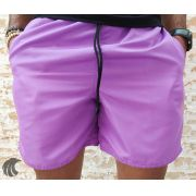 Shorts Praia Totanka Purple Basic