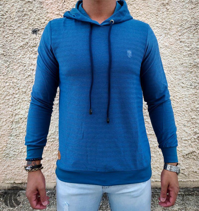 Blusa Black West Aqualad Azul  - Harpia Moda - Moda Masculina & Acessórios