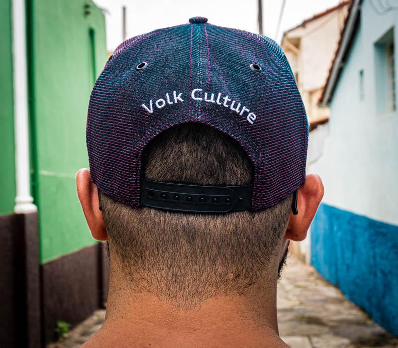 Boné Volk Culture Brilhante Aba Curva Roxo  - Harpia Moda - Moda Masculina & Acessórios