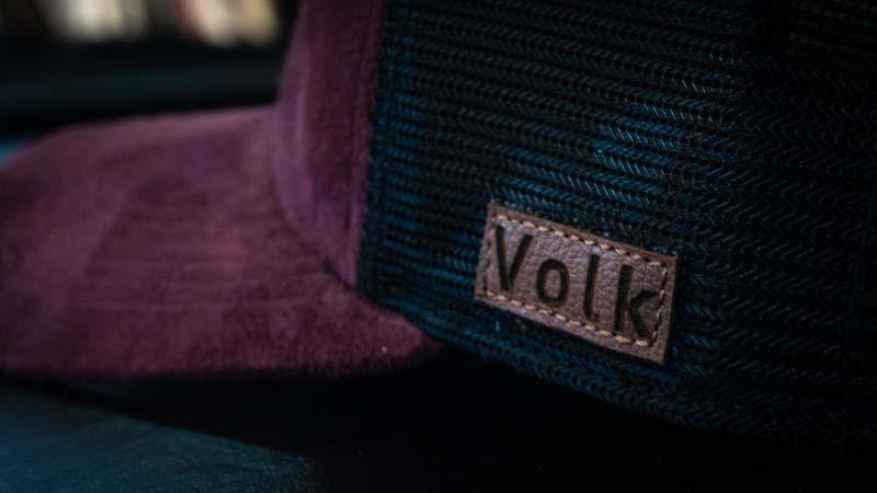 Boné Volk Culture Essencial Aba Curva Vinho  - Harpia Moda - Moda Masculina & Acessórios