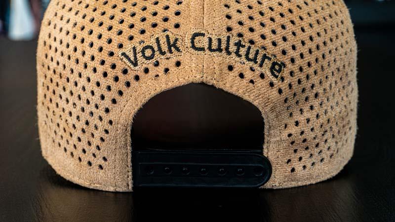 Boné Volk Culture Land Aba Curva Bege  - Harpia Moda - Moda Masculina & Acessórios